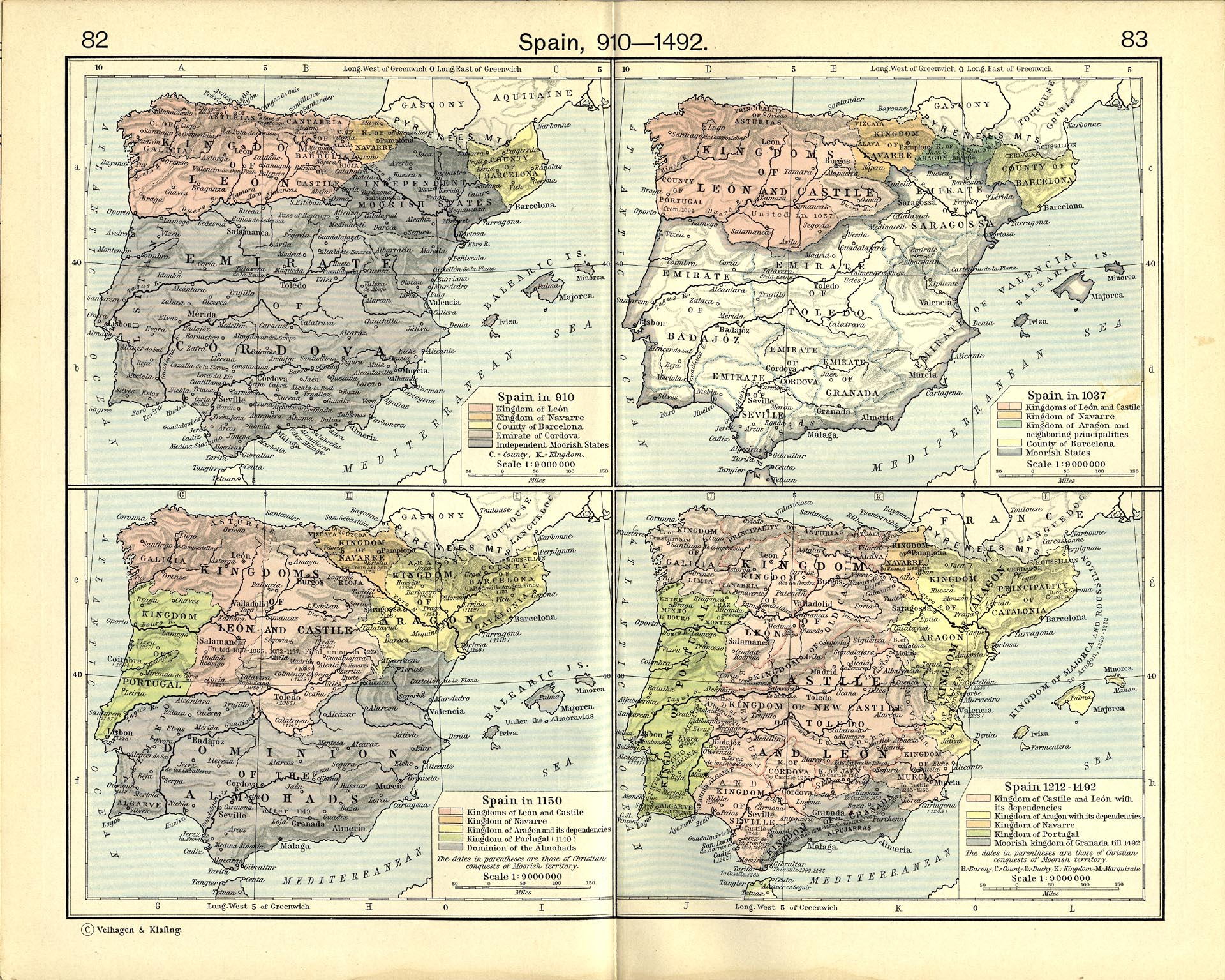 Map Of Spain Under Moorish Rule.The History Of African Gene Flow Into Southern Europeans Levantines