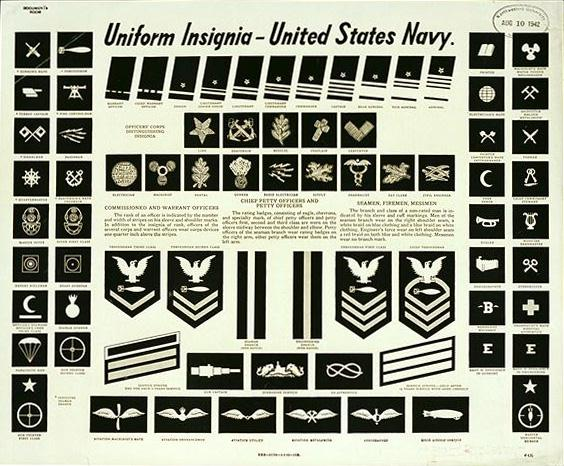 Military Basics and rank and insignia chart