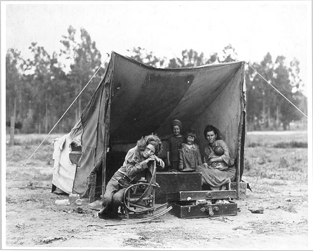 Migrant Mother, by Dorothea Lange | The Scoop on History