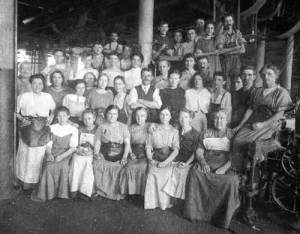 Lowell Mill workers (and their chaperone)