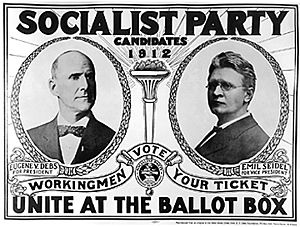 Eugene Debs for President from the Socialist Party